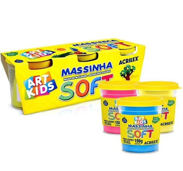 MASSINHAS - KIT 3 POTES DE 150G