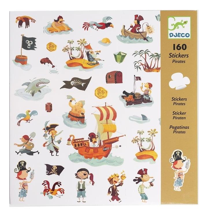 160 ADESIVOS - PIRATAS