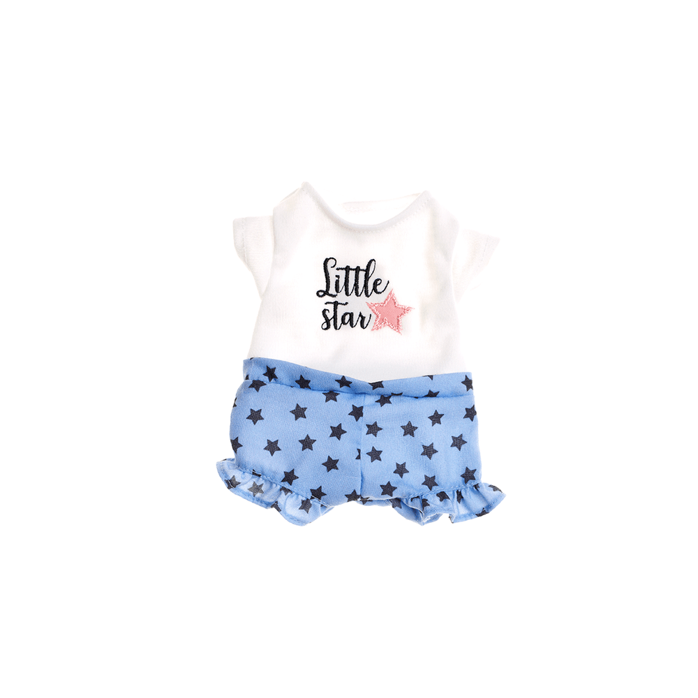 ROUPINHA LITTLE STAR - BONECA ANGELA FASHION