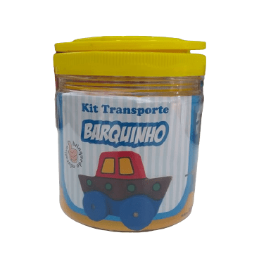 KIT TRANSPORTE - BARQUINHO