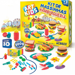 KIT DE MASSINHAS - HAMBURGUERIA