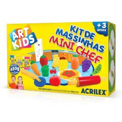 KIT DE MASSINHAS - MINI CHEF