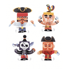 DIY PIRATAS ANIMADOS