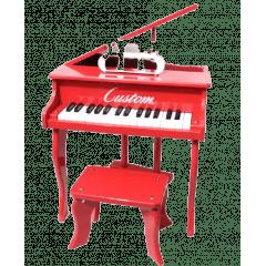 PIANO DE CAUDA - VERMELHO