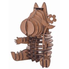 QUEBRA CABEÇA 3D - HIPOPÓTAMA LISBELA